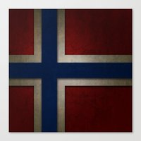 norway Canvas Prints featuring Norway by The Traveller, Wanderlust and Me