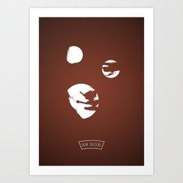 M... ...A Art Print