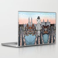 eugenia loli Laptop & iPad Skins featuring Stress Test by Eugenia Loli