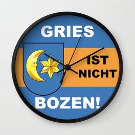 Gries Ist Nicht Bozen/Official - Gries ist nicht Bozen Wall Clock