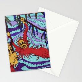 Orangutan Antics Stationery Cards