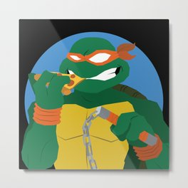 A Party Dude Metal Print
