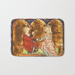 Arthur Legend 2 Lancelot and Guenevere Bath Mat