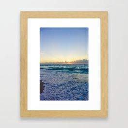 Bimini Sunset Framed Art Print
