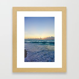 Bimini Sunset Framed Art Print