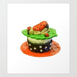 My Little Cupcake Art Print