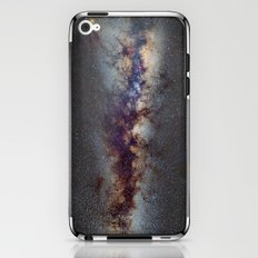 The Milky Way: from Scorpio, Antares and Sagitarius to Scutum and Cygnus iPhone & iPod Skin