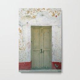 Door #0250 Metal Print