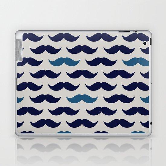 MUSTACHE PATTERN Laptop & iPad Skin