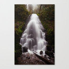 Fairy Falls, Oregon Canvas Print