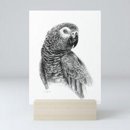 Gray Parot G083 Mini Art Print