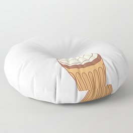 Cupcakes are Love With Icing on Top T-Shirt Floor Pillow