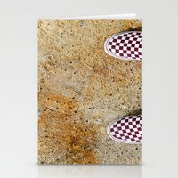 vans Stationery Cards featuring Vans by Neil John Smith