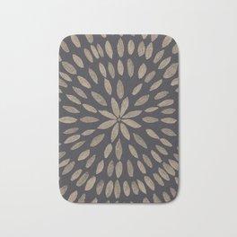 Mandala Flower #5 #drawing #decor #art #society6 Bath Mat