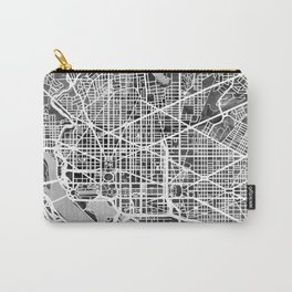 Washington DC City Street Map Carry-All Pouch