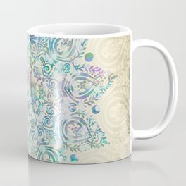 Mermaid Dreams Mandala Coffee Mug