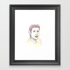 Be Good To Me Framed Art Print