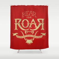 Game of Type Shower Curtain