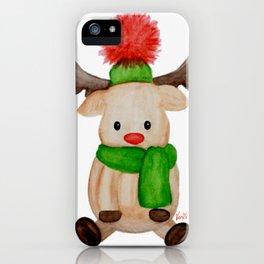Winter Reindeer iPhone Case