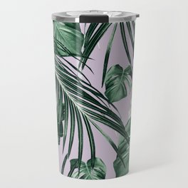 Tropical Jungle Leaves Dream #8 #tropical #decor #art #society6 Travel Mug