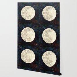 The Flower of Life Moon 2 Wallpaper