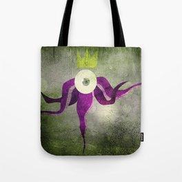 King octopus in grey Tote Bag
