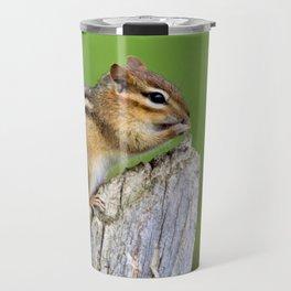 Chippy Chipmunk by Reay of Light Travel Mug