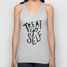 Treat Yo Self Unisex Tank Top
