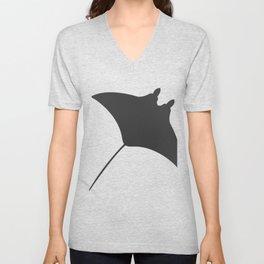 manta fish Unisex V-Neck