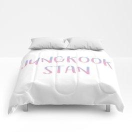 Jungkook Stan Comforters
