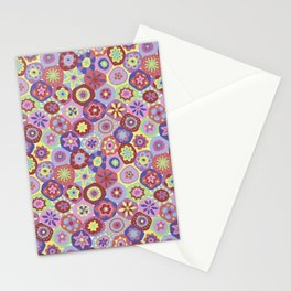 Millefiori-Coolio Colors Stationery Cards
