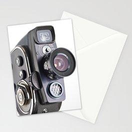 Retro hobbies movie camera Stationery Cards