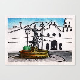Philippines : Carriedo Fountain Canvas Print