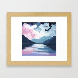 Sky Light Framed Art Print