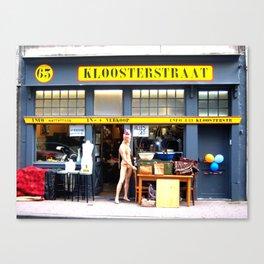Kloosterstraat Canvas Print