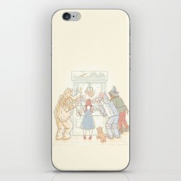 There's No Prize Like Home iPhone Skin