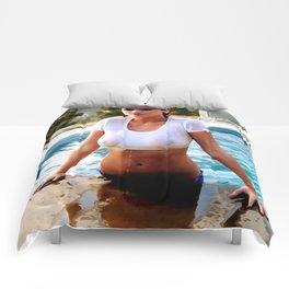 Wet 1 - Nude Comforters