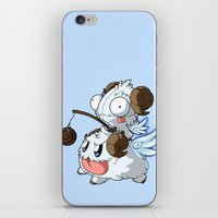 invader zim iPhone & iPod Skins featuring Invader Poro Pix by HelloTwinsies