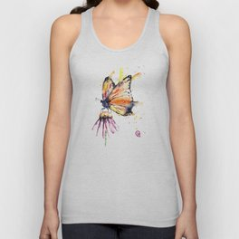 Monarch Butterfly Unisex Tank Top