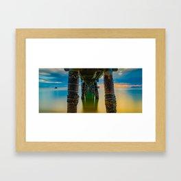 'Palm Cove, Queensland, Australia' Framed Art Print
