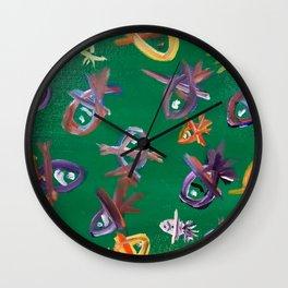 Phytoplankton Wall Clock
