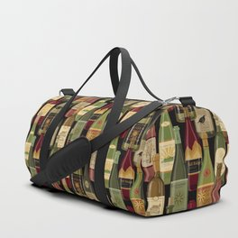 Wine Bottles Duffle Bag