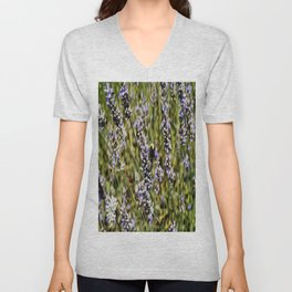The Buzz in the Lavender Field Unisex V-Neck