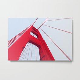 Passing the Golden Gate Metal Print