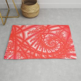 Venetian Lace In Reds Rug