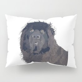 Newfoundland Dog Pillow Sham