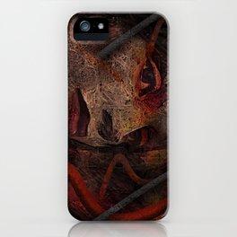 Shell - Cyborg Portrait iPhone Case