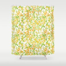 vintage 7 Shower Curtain