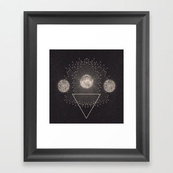 LEUKSNO - Plástica x Nikola Nupra Framed Art Print