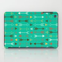 arrows iPad Cases featuring Arrows by Claire Lordon